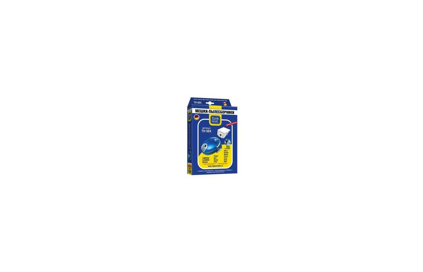 Пылесборники TOP HOUSE 64614 TH 98 X Для BORK POLARIS ... 5 шт+1 м/фильтр