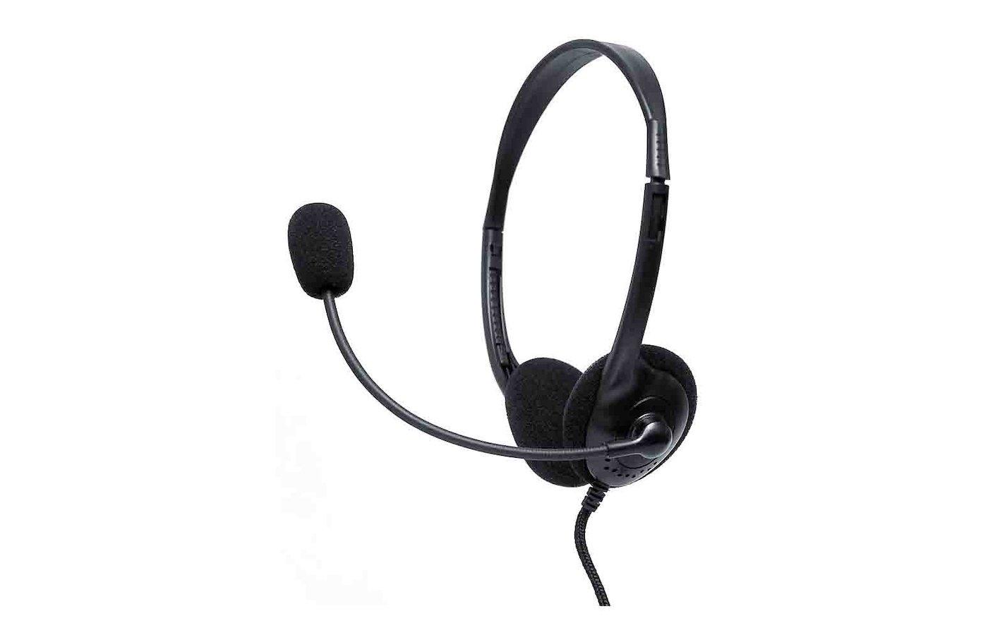 Наушники с микрофоном проводные Dialog M-201A