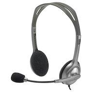 Наушники с микрофоном проводные Logitech Headset H110