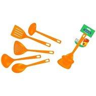 Фото Набор кухонных принадлежностей Tramontina 25099/404 (004/104/204/704/904) Кухонный набор Utilita 872-035