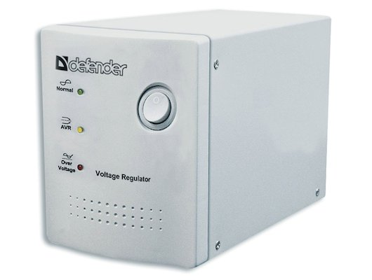 Стабилизатор напряжения Defender AVR REAL 600VA