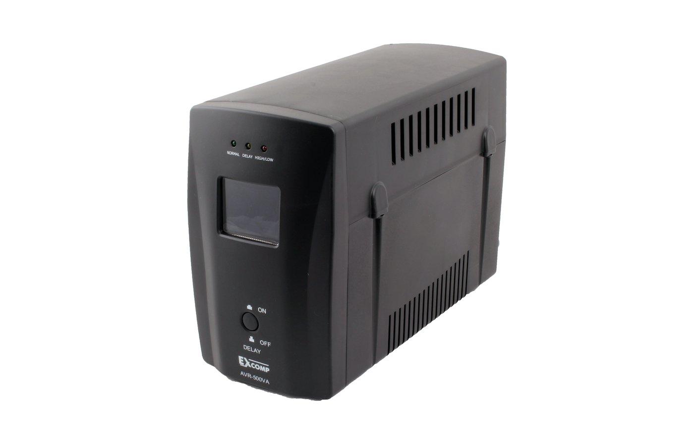 Стабилизатор напряжения EXCOMP AVR 500VA LCD (EXPERTLINE)