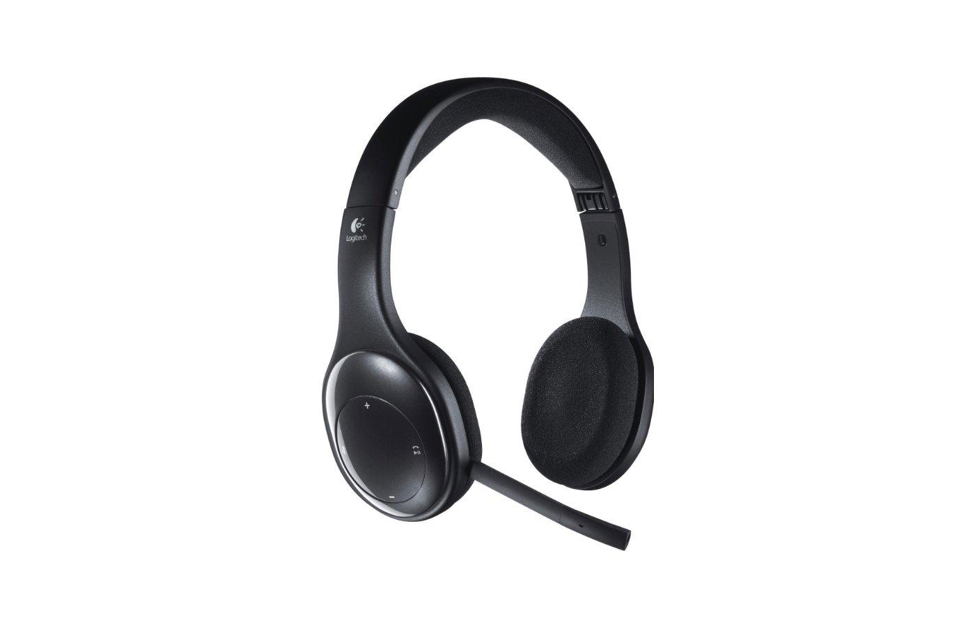 Наушники с микрофоном беспроводные Logitech Wireless Headset H800 (981-000338)