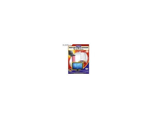Чистящие средства TOPPERR 3011 Набор для ухода за экранами ЖК LCD и плазмы 2пр. (ср-во+салфетка)
