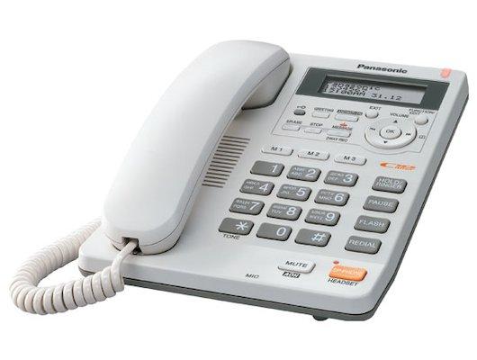 Проводной телефон PANASONIC KX-TS 2570 W