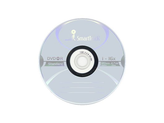 DVD-диск Диск DVD-R SMART TRACK 4.7Gb 16x Slim (за 1 диск)