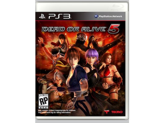Dead or Alive 5 PS3 английская версия