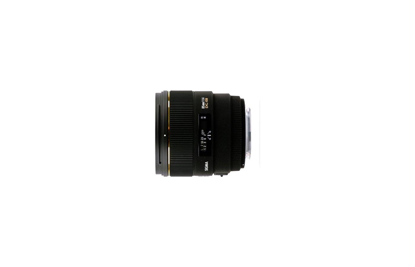 Объектив Sigma AF 85mm f/1.4 EX DG HSM для NIKON