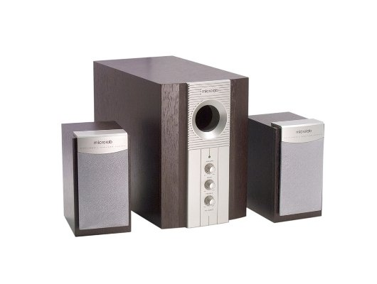 Компьютерные колонки Microlab M-890 silver/brown