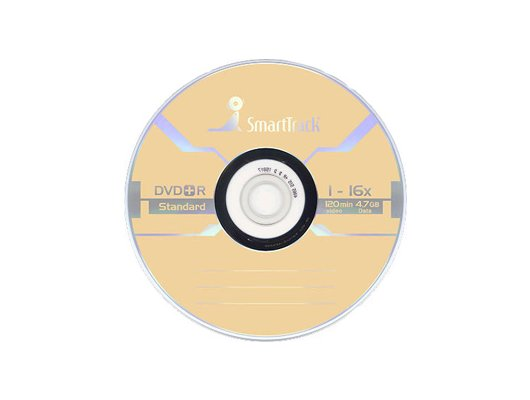 DVD-диск Диск DVD-R SMART TRACK 4.7 gb 16х (1 диск в конверте)
