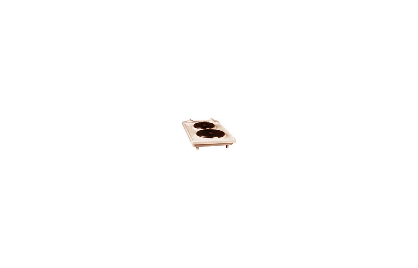 Плитка электрическая ЛЫСЬВА ЭПЧ2-2,2/220 кремовая