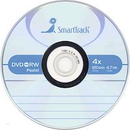 Фото DVD-диск Диск DVD-RW SMART TRACK 4.7Gb 4x Slim (за 1 диск)