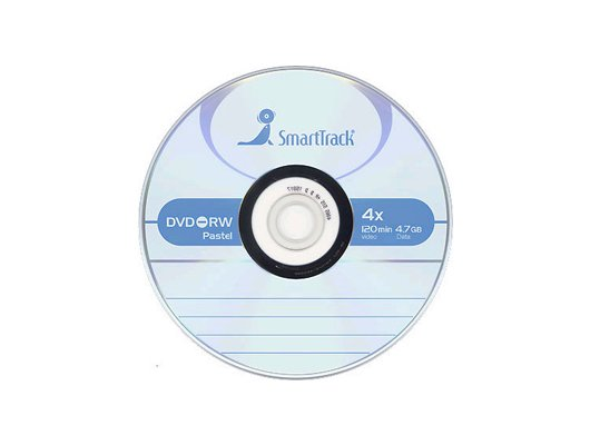 DVD-диск Диск DVD-RW SMART TRACK 4.7Gb 4x Slim (за 1 диск)