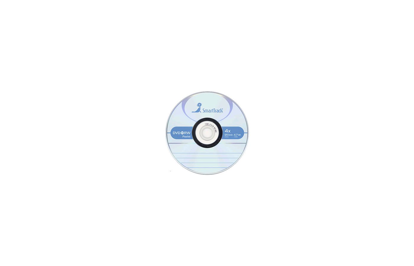 DVD-диск Диск DVD-RW SMART TRACK 4.7Gb 4x Slim (за 1 диск)