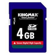 Фото Карта памяти Kingmax SDHC 4Gb Class 6