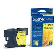 Картридж струйный Brother LC-1100 Y