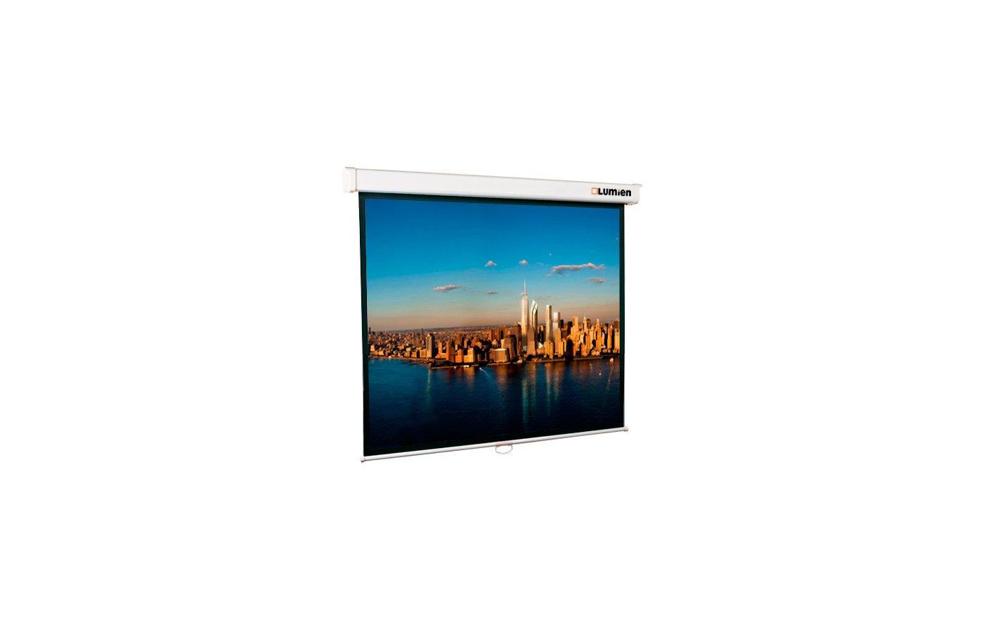 Экран для проектора LUMIEN Master Picture 110 203х203 1:1 (LMP-100104) настенный