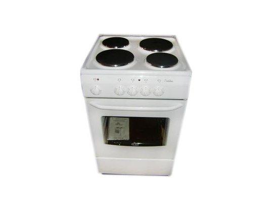 Плита электрическая DELUXE 5004.12 Э белая