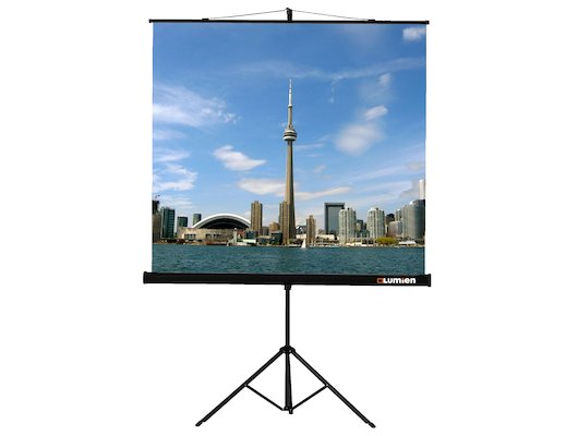 "Экран для проектора LUMIEN Eco View 100"" 180х180 1:1 (LEV-100102) штатив"