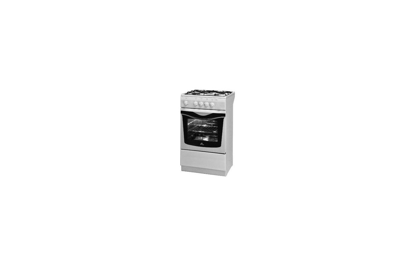 Плита газовая DELUXE 5040.37 Г белая