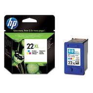 Картридж струйный HP 22XL C9352CE многоцветный для DJ 3920/3940/D1360/D1460 PSC 1410 (415стр.)