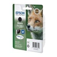 Фото Картридж струйный Epson C13T12814011 T1281 black для S22/SX125.