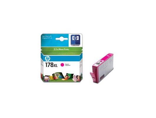 Картридж струйный HP 178XL CB324HE пурпурный для HP C5383/C6383/B8553/D5463 (750стр.)