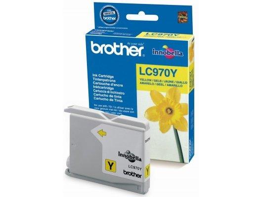 Картридж струйный Brother LC970 Y