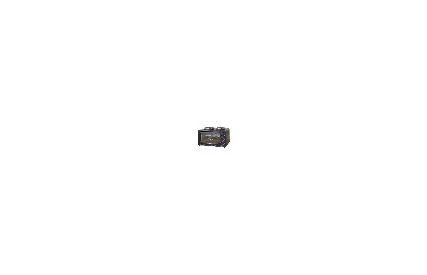 Электрическая мини-печь AKEL AF-752 черный 36л.