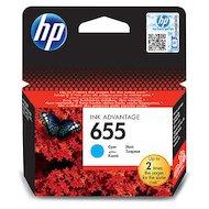 Картридж струйный HP 655 голубой для DJ IA 3525/5525/4615/4625