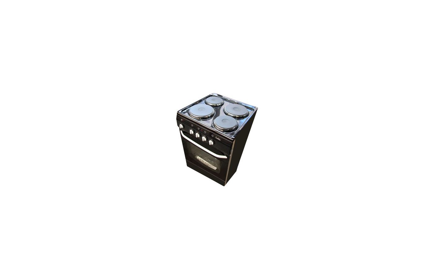 Плита электрическая DELUXE 5004.12 Э черная