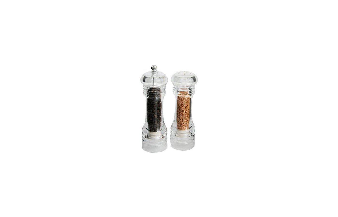 набор для специй VETTA 827-028 Набор для специй 2пр. мельница 16см + солонка 15см акрил