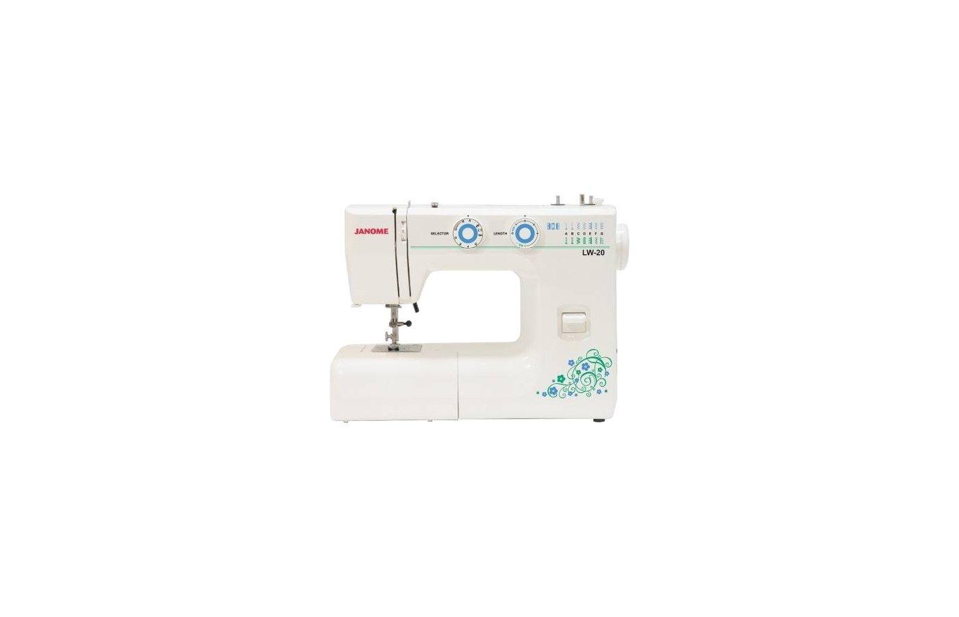 Швейная машина JANOME PS 19 (LW-20)