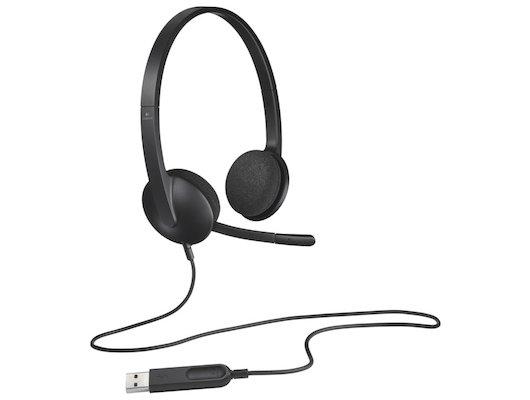 Игровые наушники проводные Logitech Headset H340 USB (981-000475/981-000508)