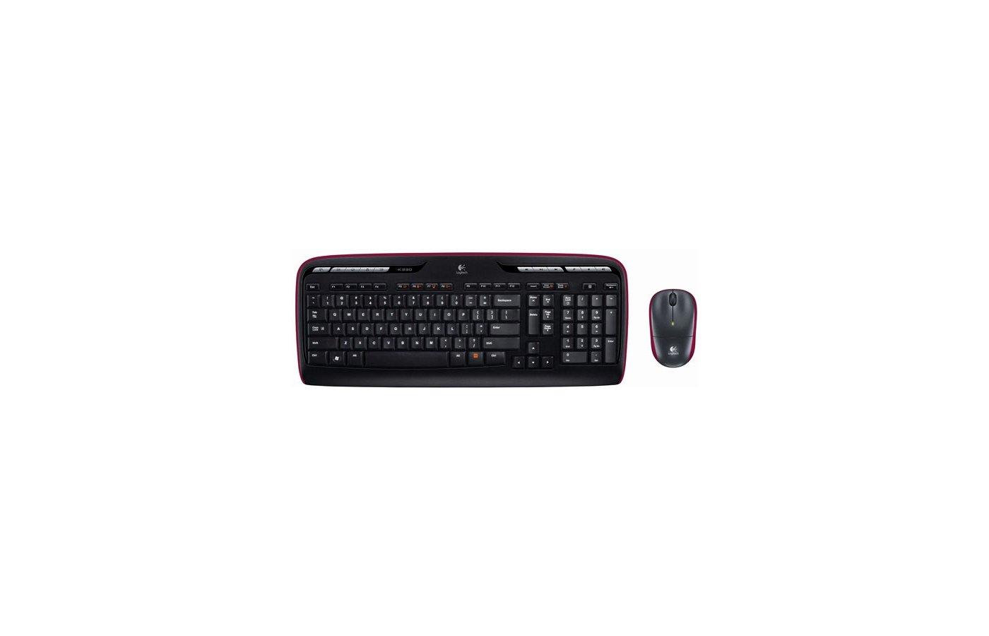 Клавиатура + мышь Logitech Wireless Combo MK330 (920-003995) беспроводной