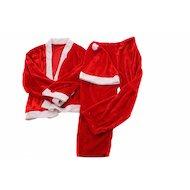 Фото Костюм Сноу Бум Дед мороза (кафтан брюки колпак пояс) 6-9лет красный плюш 389-223