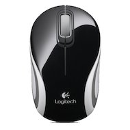 Фото Мышь беспроводная Logitech Wireless Mini Mouse M187 Black-White USB
