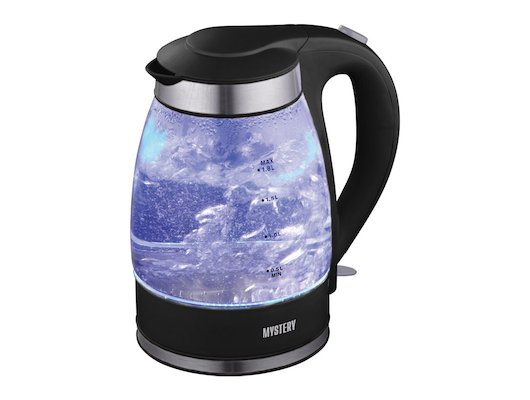 Чайник электрический  MYSTERY MEK-1627 black