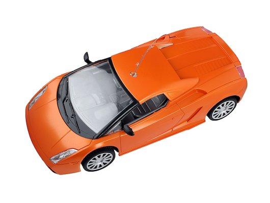 Игрушка MioshiTech 24см на аккум. 2012-4 (оранжевый) Автомобиль