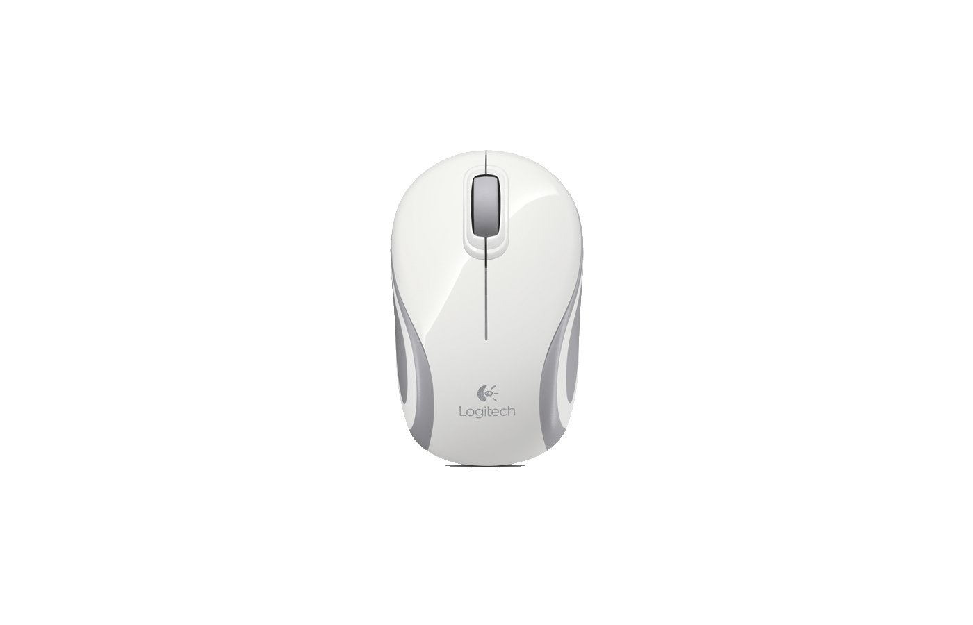 Мышь беспроводная Logitech Wireless Mini Mouse M187 White-Silver USB