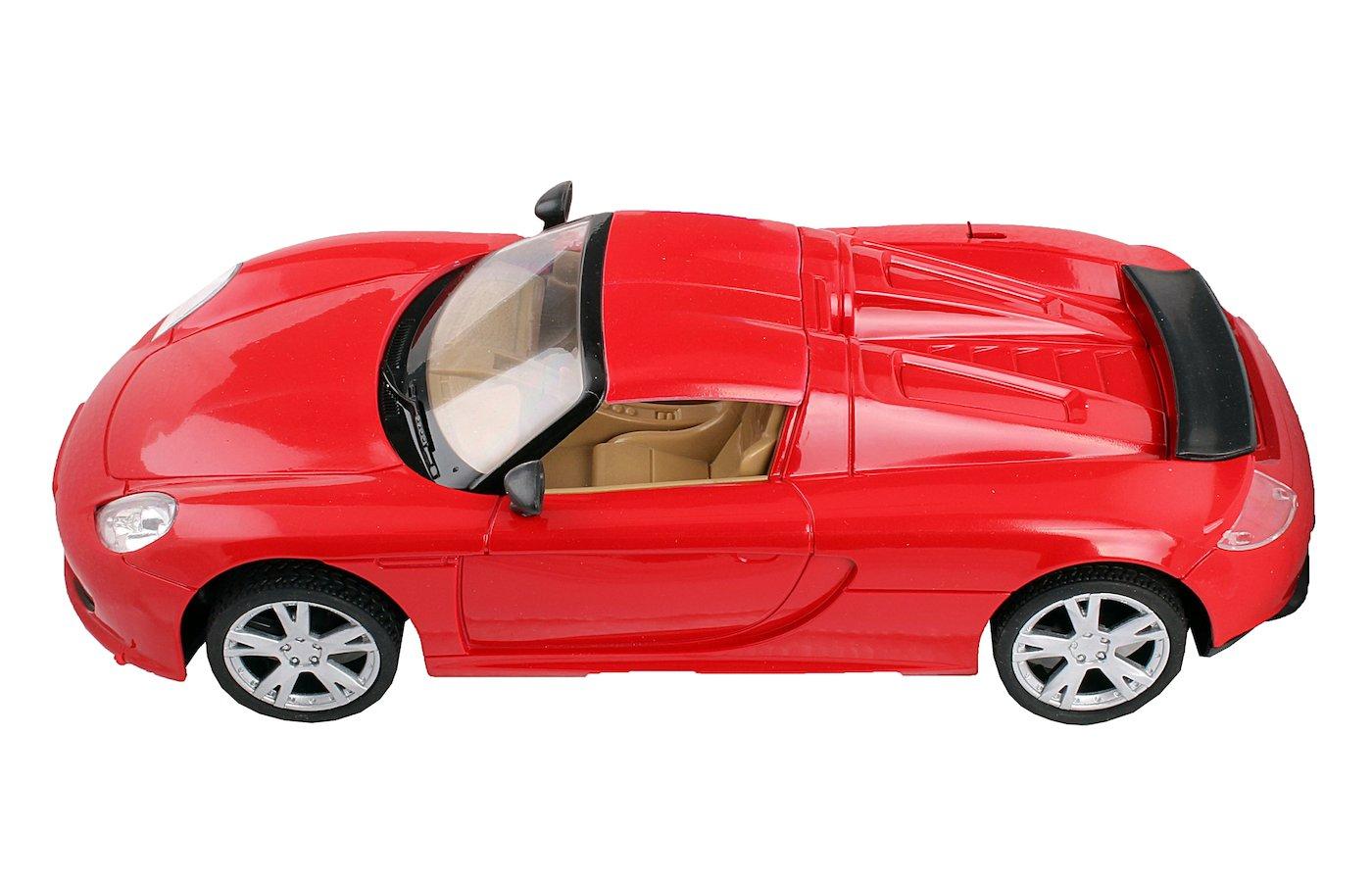 Игрушка MioshiTech 24см на аккум. 2012-3 (красный) Автомобиль