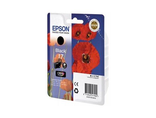 Картридж струйный Epson T17014A10 черный