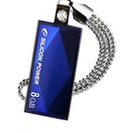 Флеш-диск USB 2.0 Flash Drive SiliconPower Touch 810 8Gb Blue (SP008GBUF2810V1B)