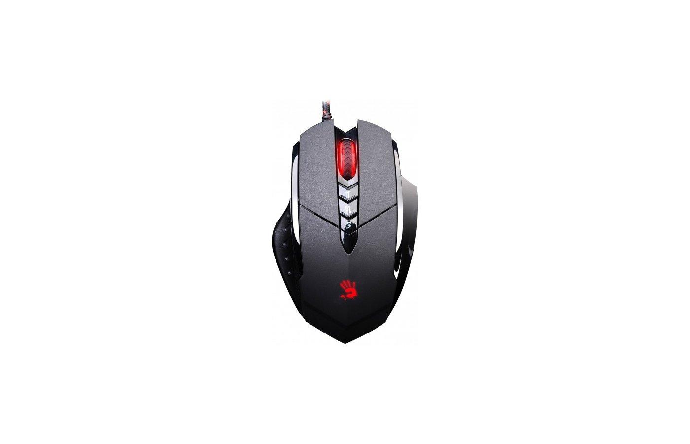 Мышь проводная A4Tech Bloody V7 (Black)