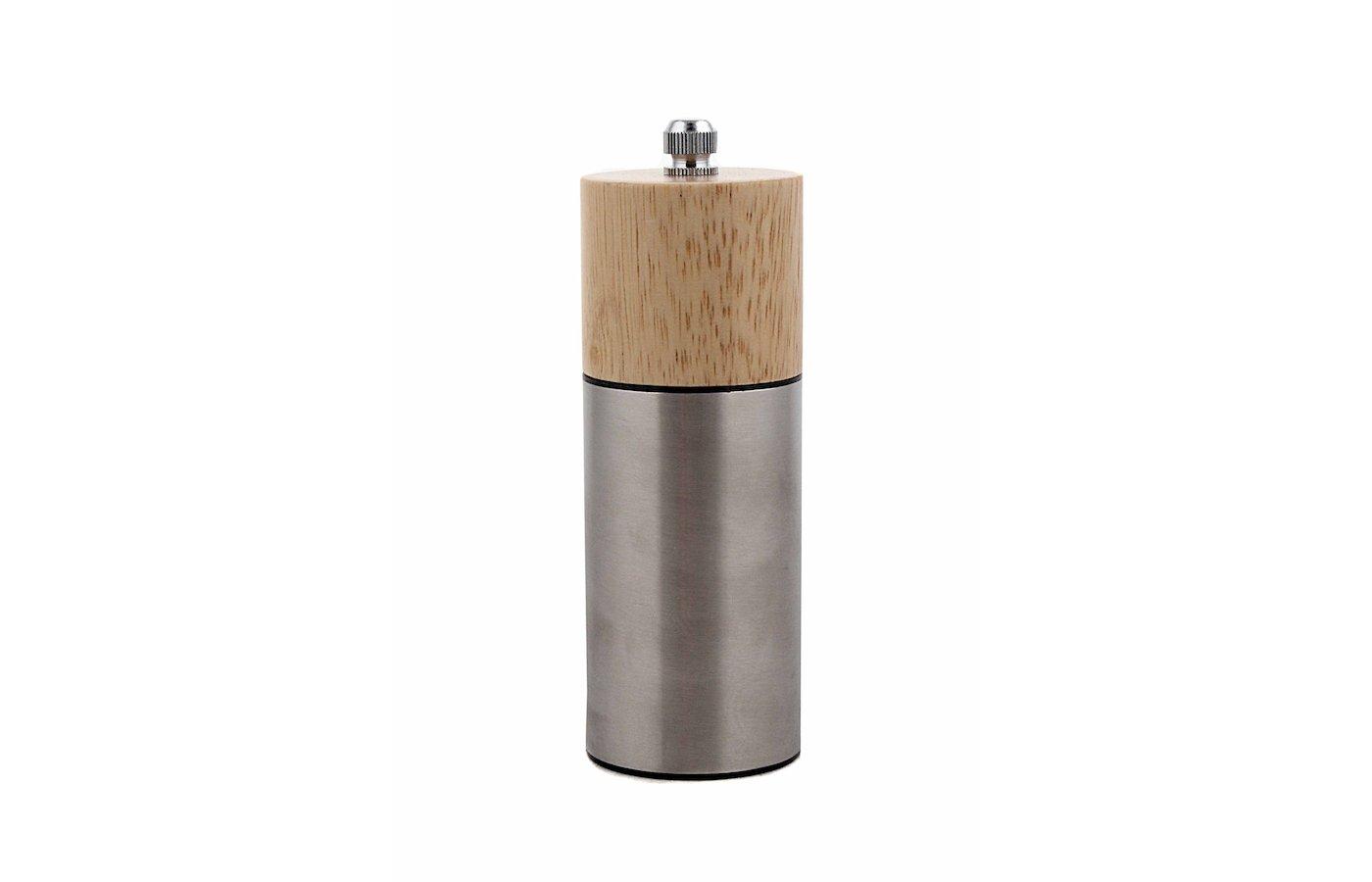 набор для специй VETTA 827-040 Мельница для специй дерево+металл 13см