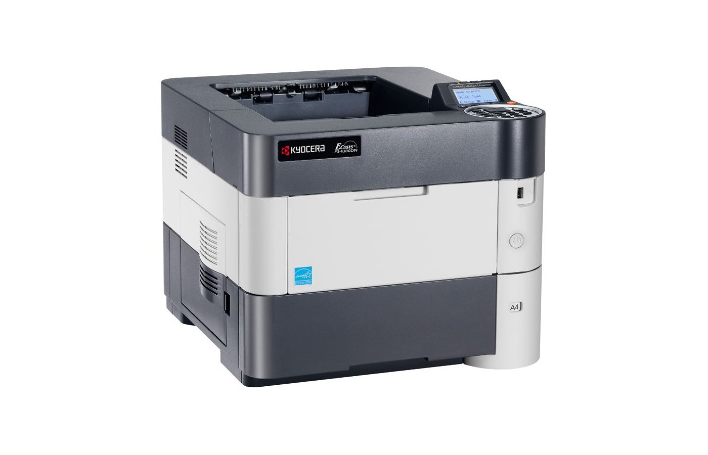 Принтер Kyocera FS-2100DN A4 40 стр 128 Мб USB 2.0 дуплекс гиг.сеть (1102MS3NL0)