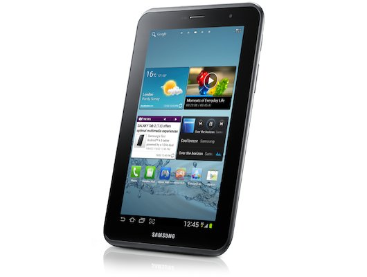 Планшет Samsung GT-P3110 OMAP 4430 (1.0)/RAM1Gb/ROM8Gb/7 1024x600/WiFi/BT/3Mp/0.3Mp/GPS/And4.0/silver