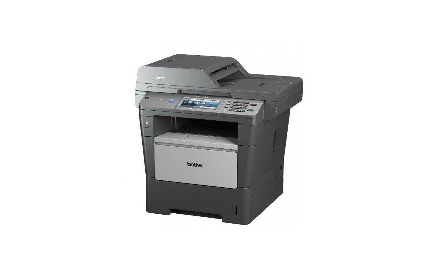 МФУ Brother DCP-8250DN A4 (принтер/сканер/копир) печать/копир40стр/мин сеть дуплекс