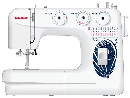 Швейная машина JANOME S 24