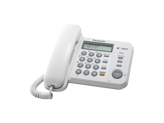 Проводной телефон PANASONIC KX-TS 2358RUW
